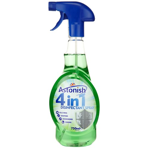Astonish  4 in 1 Disinfectant Spray - 750ml