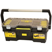 Stanley  24in Toolbox with Tote Tray Organiser