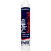 Polycell  Decorators Caulk 380ml - White