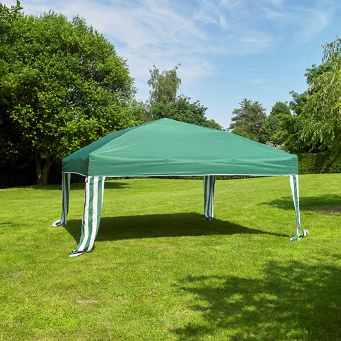Kingfisher  Deluxe Pop up Gazebo - 3m x 3m