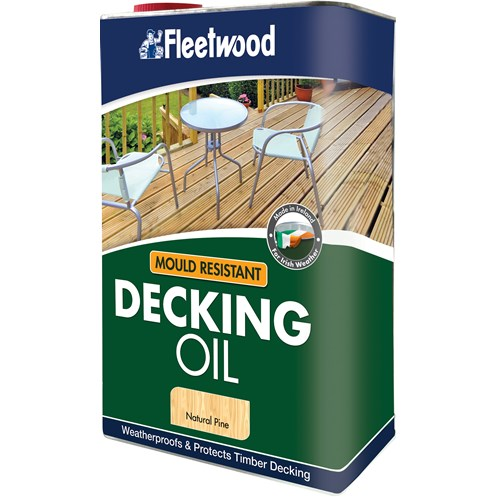 Fleetwood Gardencare Decking Oil - 5 Litre