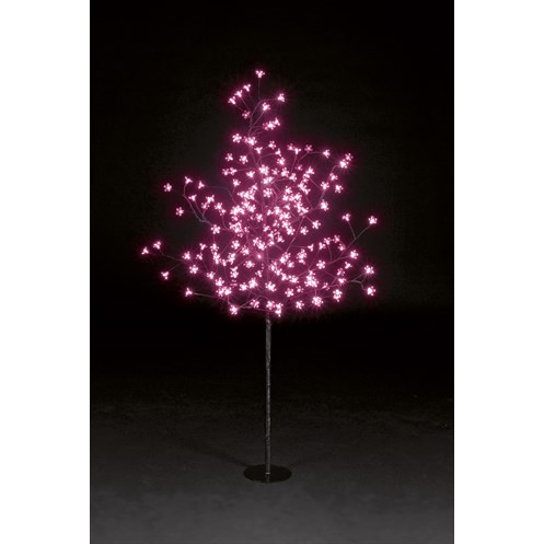 Snowtime  Pink LED Cherry Blossom Tree - 1.5m