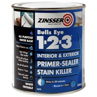 Zinsser  Bulls Eye 1-2-3 Primer Sealer - 500ml