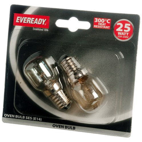 Eveready  Incandescent Oven Light Bulb - 25W SES