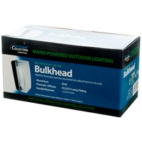 Powermaster  Rectangular Aluminium & Polycarbonate Bulkhead Light - 110W