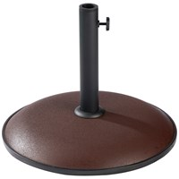 Mercer Donard 11kg Concrete Parasol Base - Chocolate