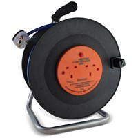 Safeline  Blue Artic Cable Reel With 13 Amp Plug - 25 Metre