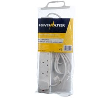 Powermaster  2m Extension Lead - 13 Amp 6 Gang