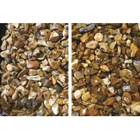 The River Collection  Suir Gold Flint Decorative Stone - 20mm