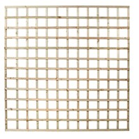 Independent Fencing  Heavy Square Lattice Trellis Panel - 1800 x 1800mm