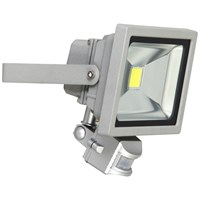 XQLITE  SMD LED Floodlight with Motion Sensor - 20W